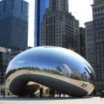 Photograph of the Bean in Chicago, Illinois