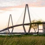 Photograph of a bridge in Charleston, South Carolina